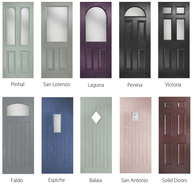 composite doors elegence collection